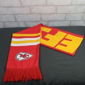 Accessories - Kansas city chiefs scarf with fringe